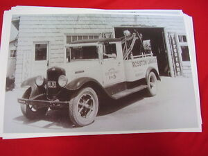 1932 International Harvester Tow Truck 11 X 17 Photo Picture