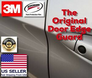 3m 4 Door Edge Guard Car Paint Chip Scratch Protection Trim Clear Strong Film
