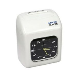Amano Ex 3500n Electronic Time Clock