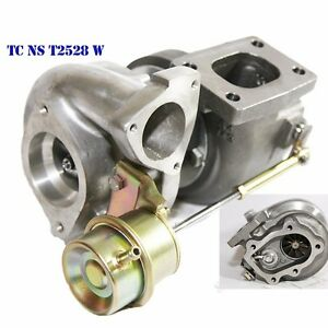 Oil Water Cooled Hybrid Turbo T25 T28 2 Inlet 2bolt Flange For 240sx Sr20 Ca18