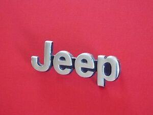 1985 1986 1987 1988 1989 1990 Jeep Cherokee Wagoneer jeep Front End Emblem badge