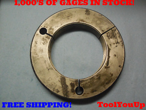 3 7 8 16 N Thread Ring Gage 3 875 Go Only P d 3 8344 Tool Inspection Tooling