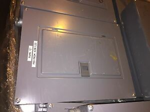 Square D Load Center Qoc16us Series Type 1 Enclosure 20a Circuit Breakers