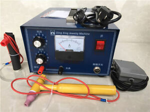 220v Jewelry Laser Welding Machine Spot Welder Gold Silver Handle Tool 400w