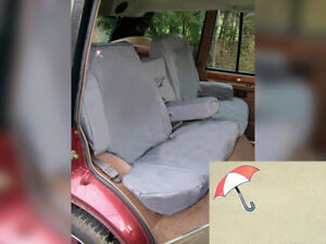 Land Rover Range Rover Classic 1987 1995 Rear Waterproof Seat Covers Set Sand