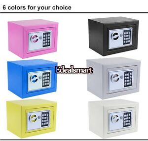 Electronic Safe Box Digital Home Security Lock Box Keypad Keyless Key Entry Hot