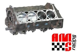 Ams Racing 383 Ci Small Block Chevrolet Forged Dart Short Block W Mahle Pistons