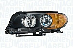 Bmw 3 Series E46 Cabrio Coupe 03 06 Halogen Headlight Front Lamp Yellow Left