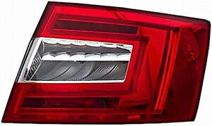 Hella Led Tail Light Rear Lamp Right Fits Skoda Octavia Hatchback 2012
