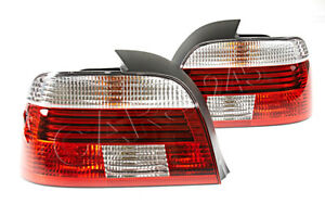 Hella Bmw 5 Series E39 Sedan 1995 2000 Led Tail Lights Rear Lamps Pair Lh Rh