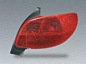 Peugeot 206 Cc Convertible 2000 2003 Rear Lamp Tail Light Left Lh