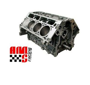 Ams Racing 376 Ci Ls3 Short Block W 10 1 1 Mahle Pistons Forged H Beam Rods