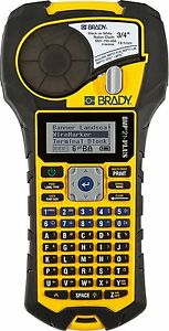 Brady Bmp21 plus Handheld Label Printer With Rubber Bumpers Multi line Print