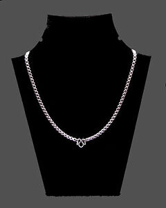 Powerful Heavy 24 Stainless Steel Thai Buddhist Amulet Necklace Chain Thai Yant