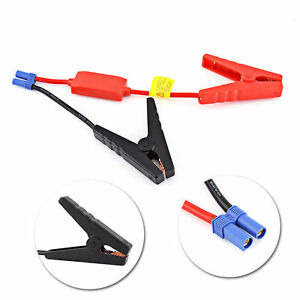 Connector Jumper Cable Alligator Clamp Booster Battery For Car Jump Starter Bt