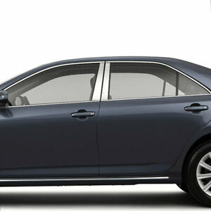 Chrome Pillar Post Covers For 2012 2014 Toyota Camry 4 Pieces