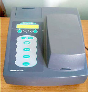 Thermo Genesys 20 Visible Spectrophotometer a4 150
