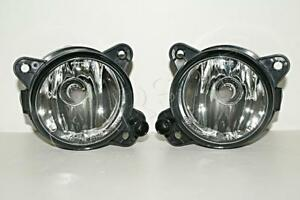Vw Touareg Polo T5 Crafter Skoda Fabia 02 Halogen Fog Driving Lights Lamps Pair