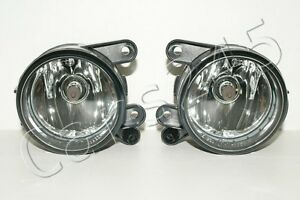 Vw Golf Mk5 2004 Halogen Fog Driving Lights Lamps Pair Lh Rh Cibie