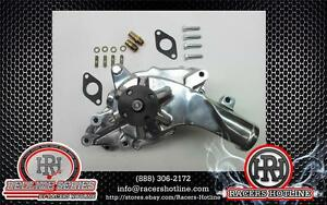 Racers Hotline Ford Fe 352 428 High Flow Polished Aluminum Water Pump Edl 8835