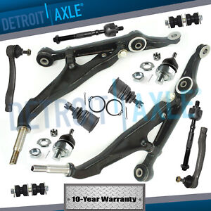 1998 2001 Acura Integra Front Lower Control Arm Ball Joint Tie Rod Sway Bar Kit