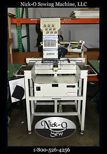 Brother Bas 416 Commercial Embroidery Machine Parts Only Not Working
