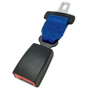 7 Click In Seat Belt Extender Type S Blue E4 Safe