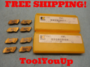8pcs New Kennametal Nr 3047 L Kc 850 Top Notch Grooving Inserts Cnc Tooling