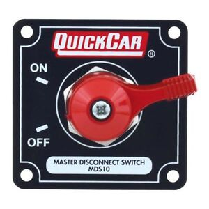 Quickcar Racing Products 55 010 Battery Master Disconnect Rotary Switch W Panel