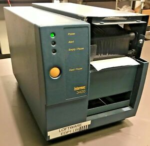 Intermec Easycoder 3400 Label Printer missing Front Top Cover