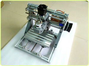 Diy Mini 3 axis Cnc Router Engraver Carving Machine For Pcb Pvc Milling Wood