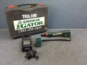 Greenlee Gator Ets8 Battery Powered Cable Tray Cutter