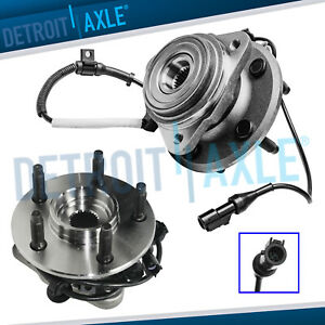Pair 2 Front Wheel Bearing Hub For Explorer Mountaineer 4wd 4x4 W Abs 5 Lug