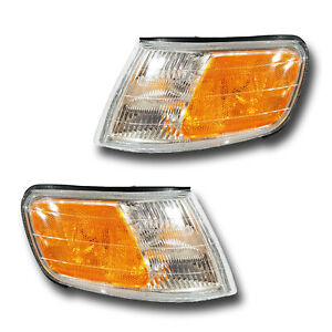 Fits 94 97 Honda Accord Left Right Parking Side Marker Light Assembly 1 Pair