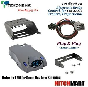 Prodigy P2 Trailer Brake Control Adapter For 10 12 Ram 1500 2500 3500 90885