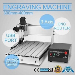 Top 230w 3040 3 Axis Cnc Router Engraver 3d Engraving Drilling Milling Machine