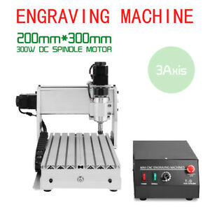Cnc3020t Router Engraving Drilling Milling Machine 3d Cutter3 Axis Engraver Usb