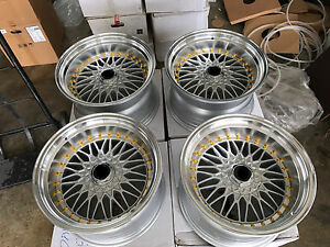 For 180sx Dc2 240sx Jdm 17 Rs Wheels Style Lm S1 114 3x4 100x4 Mesh