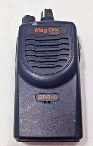 Motorola Mag One Bpr40 Aah84rcs8aa1an 8ch Missing Antennae Uhf As is