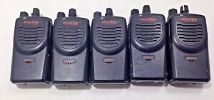Lot Of 5 Motorola Mag One Bpr40 Aah84rcs8aa1an 8ch Missing Antennae Uhf As is