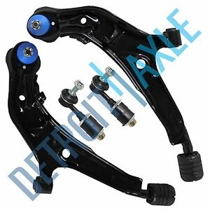 For 1995 1999 Nissan Maxima Front Lower Control Arm Ball Joint Sway Bar Set