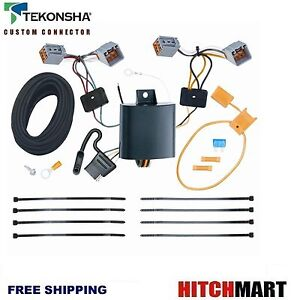 Tekonsha Trailer Hitch Tow Wiring Harness For 2014 2020 Ford Transit Connect