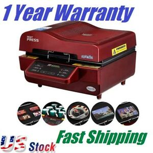Us 3d Vacuum Sublimation Heat Press Machine For Transfer Phone Cases Mugs Cups