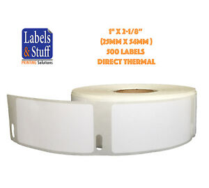 20 Rolls Of 500 Multipurpose Labels For Dymo Labelwriters 30336