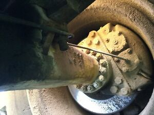 Michigan 85iiia Wheel Loader Rear Axle Hub to hub Hydraulic Disc Brakes