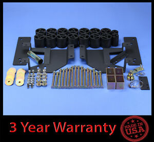 99 02 Ford F250 F350 Superduty 3 Full Body Lift Kit Front Rear