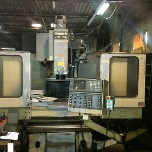 Monarch Cnc Vertical Machining Center Vmc 75b 1996
