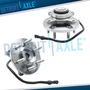 2 Front Wheel Bearing Hub 2007 2008 2009 2010 Ford Expedition Navigator 4wd