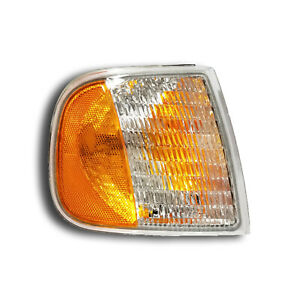 Fits 97 03 Ford Expedition F150 F250 Passenger Right Signal Parking Light Lamp