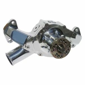 Meziere Wp400up 400 Series Mechanical Water Pump For Big Block Chevy Short Style